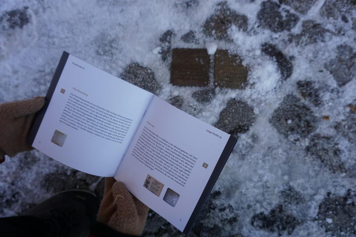Neue Broschüre zu den Stolpersteinen in Greifswald erschienen